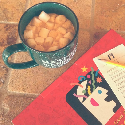 Scattergories and Hot Cocoa