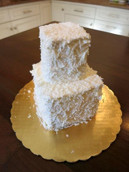 5 year anniversary Wedding Cake recreated