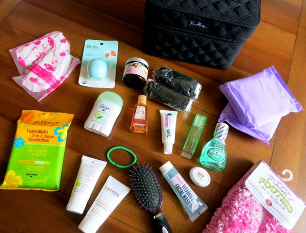 Baby Shower Gift: Hospital Essentials Bag - Peanut Butter Fingers