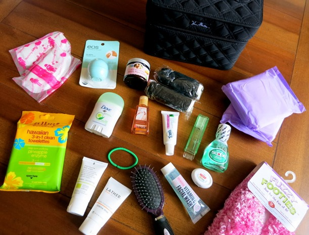 Baby Shower Gift Idea - Hospital Toiletry Bag