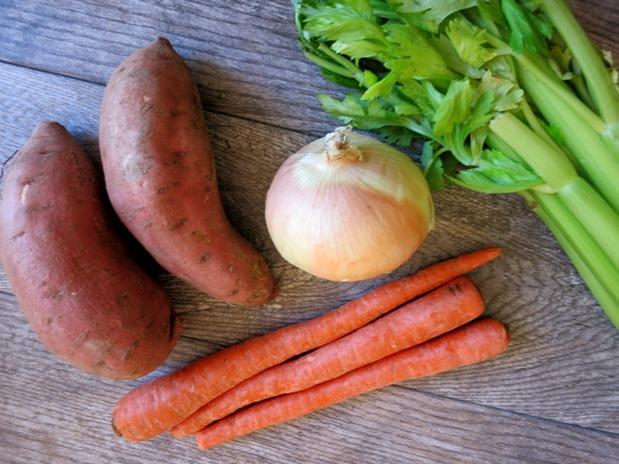 Easy Crock Pot Sweet Potato Soup