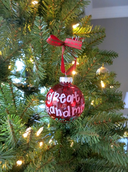 Great Grandma Ornament