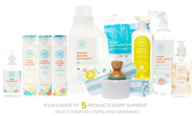 Honest Company Essentials Bundle