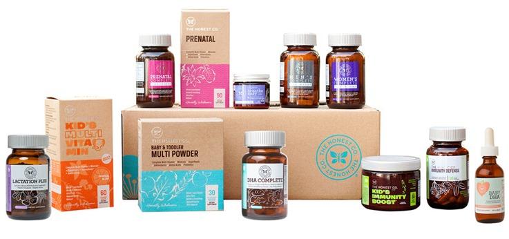 Honest Company Health Wellness Bundle