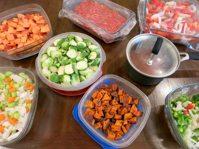 One Week Healthy Meal Plan with Food Prep Tips!