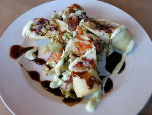 Restaurant X Shrimp Rolls