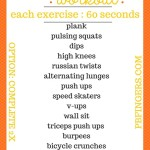 Thanksgiving Day At Home Workout