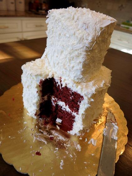 recreate wedding cake