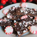 Easy Coconut Oil Peppermint Bark