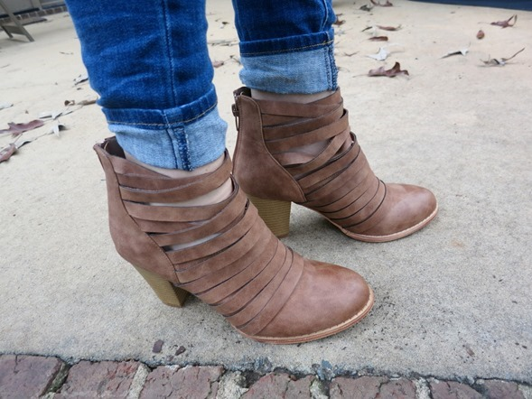 Wrap Ankle Booties