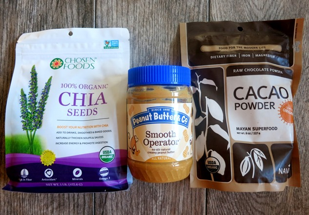Chia Seed Pudding Recipe Ingredients