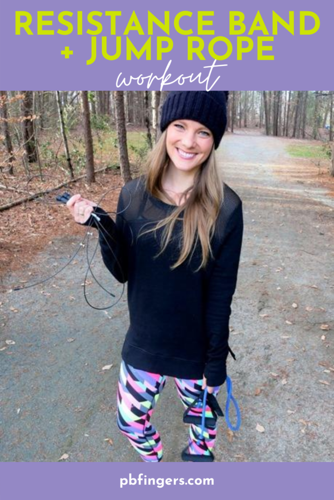 Resistance Band + Jump Rope Workout