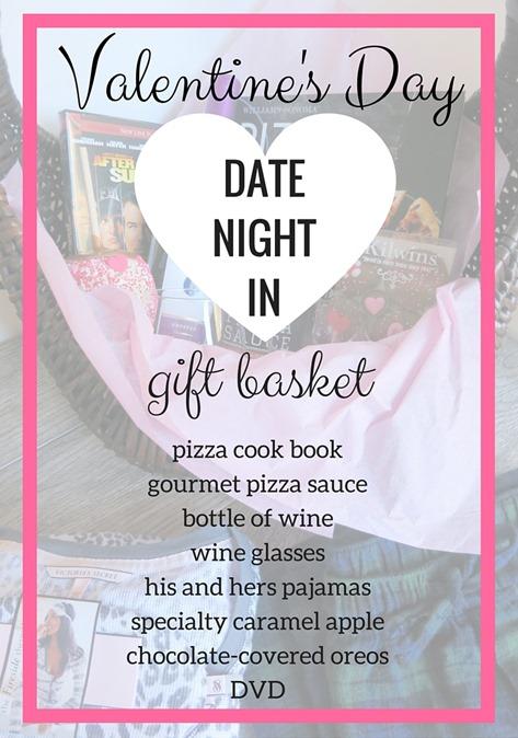 Valentine's Day Date Night Gift Basket