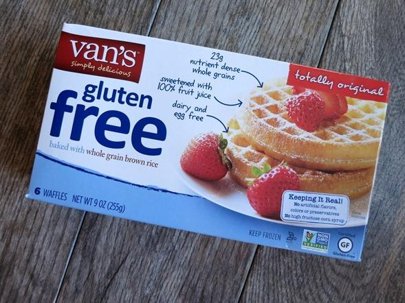 Van's Gluten Free Frozen Waffles