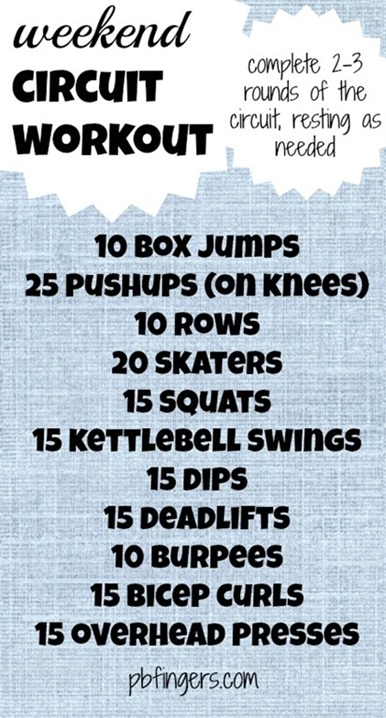 Weekend Circuit Workout