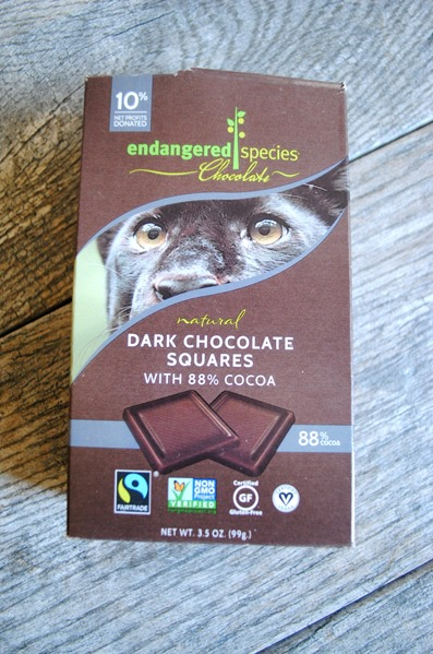 Endangered Species Dark Chocolate