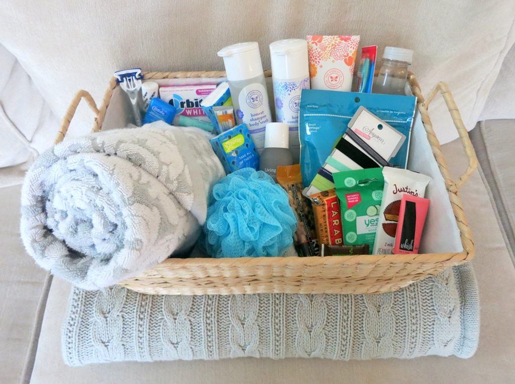 Gift Ideas For Wedding Guests At Hotel: Houseguest Welcome Basket For Visitors