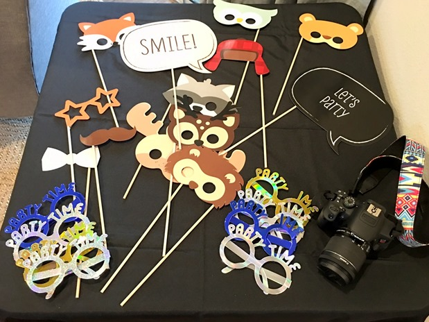First Birthday Party Photo Booth Props