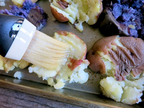 How to Make Smashed Potatoes (EASY!)