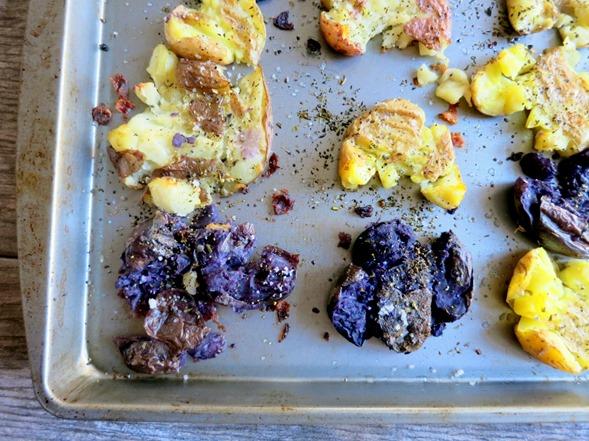 Italian Smashed Potatoes Recipe