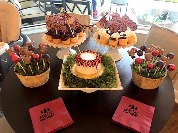 Lumberjack Party Desserts