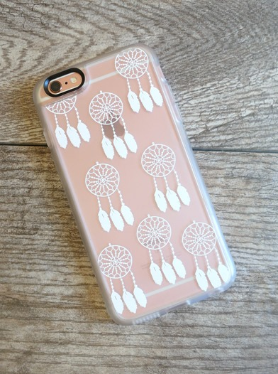 iphone with dreamcatcher case