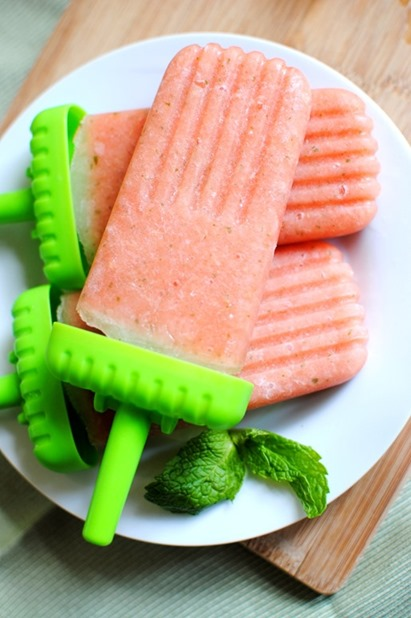 Easy Watermelon Popsicles