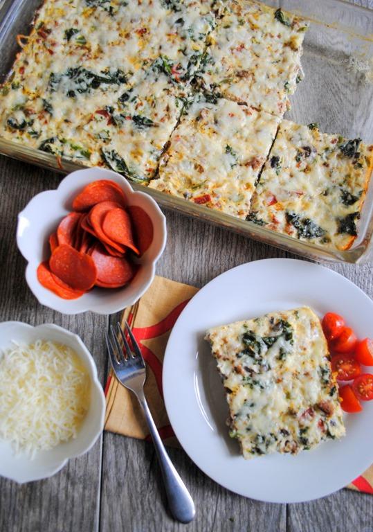 Egg white pizza bake recipe egg white pizza bake forumfinder Image collections