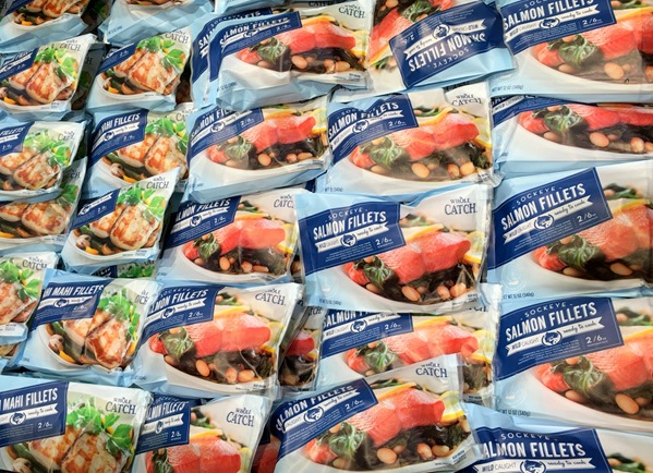 Six simple ways to green your routine at whole foods for Flash frozen fish