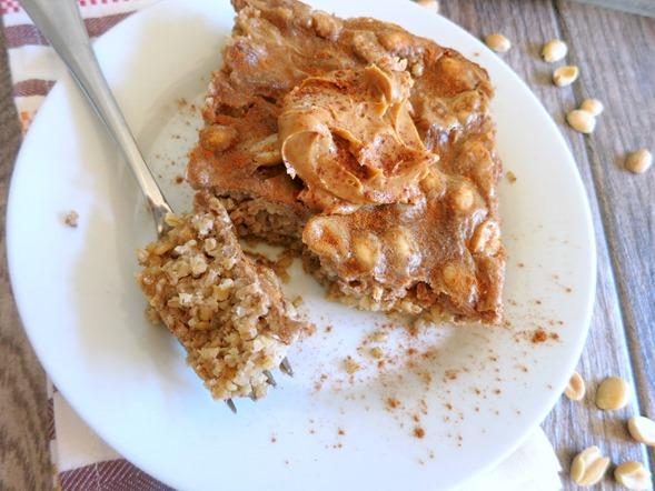 Peanut Butter Crunch Baked Oatmeal