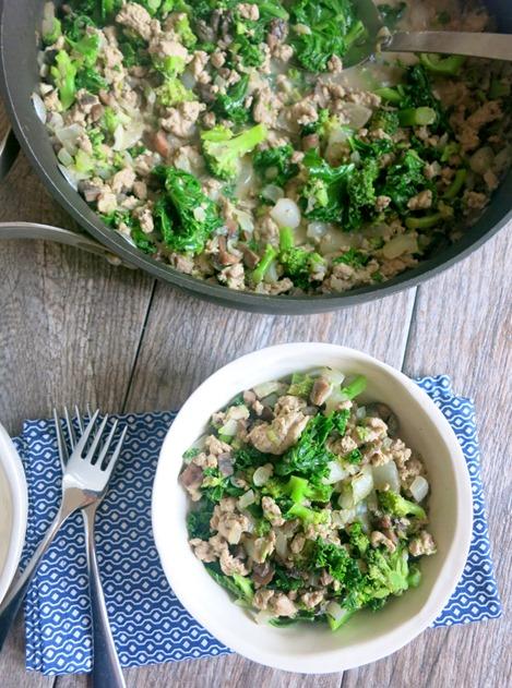 Turkey and Kale Skillet Recipe