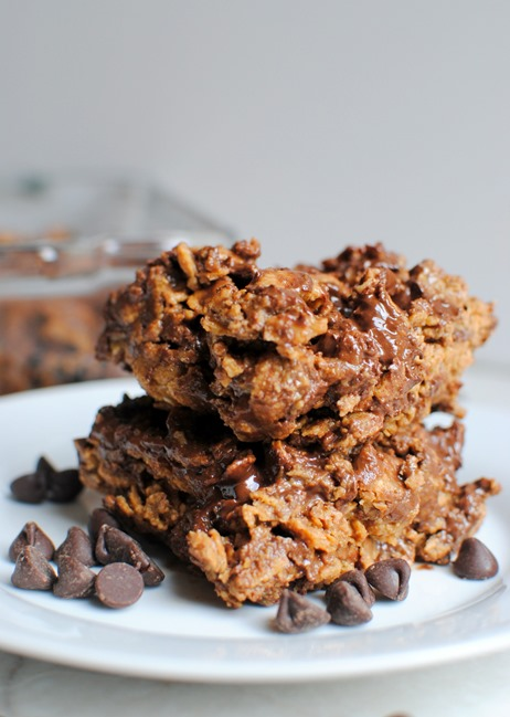 Chocolate Peanut Butter Cereal Bars (Plus Some Weekend Adventures!)