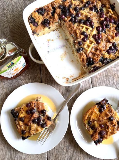 Gluten Free Blueberry Breakfast Casserole Recipe