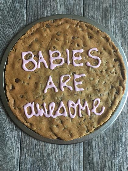 Homemade Cookie Cake