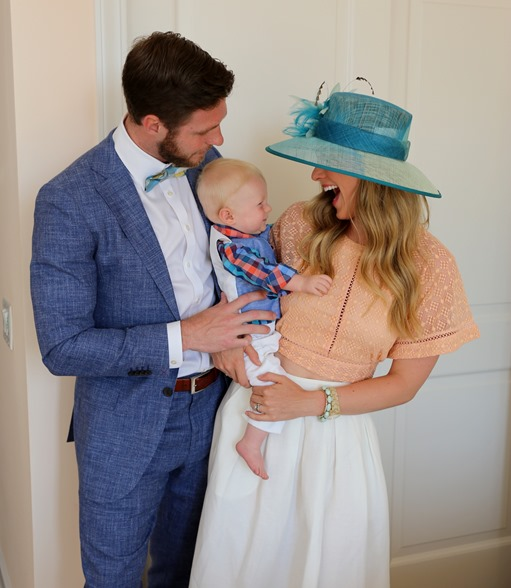 Mom Dad Baby Kentucky Derby
