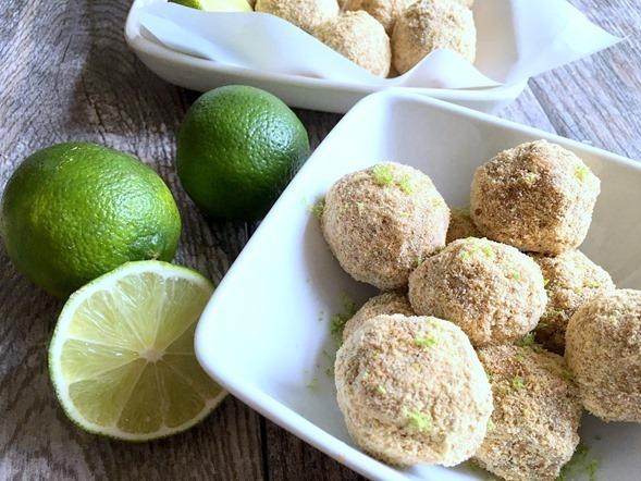 NO BAKE Key Lime Pie Bites Recipe