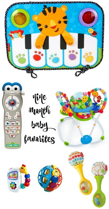 Nine Month Baby Favorites