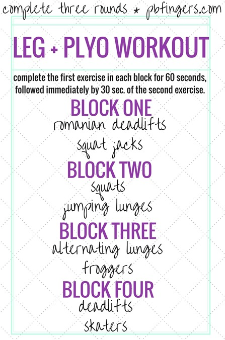 Plyometric Leg Workout