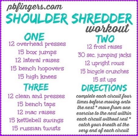 Shoulder Shredder Workout