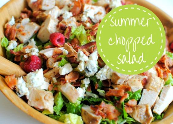 Summer Chopped Salad Recipe