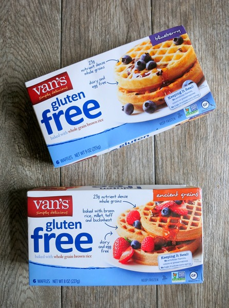 used van s gluten free blueberry and ancient grains waffles which ...