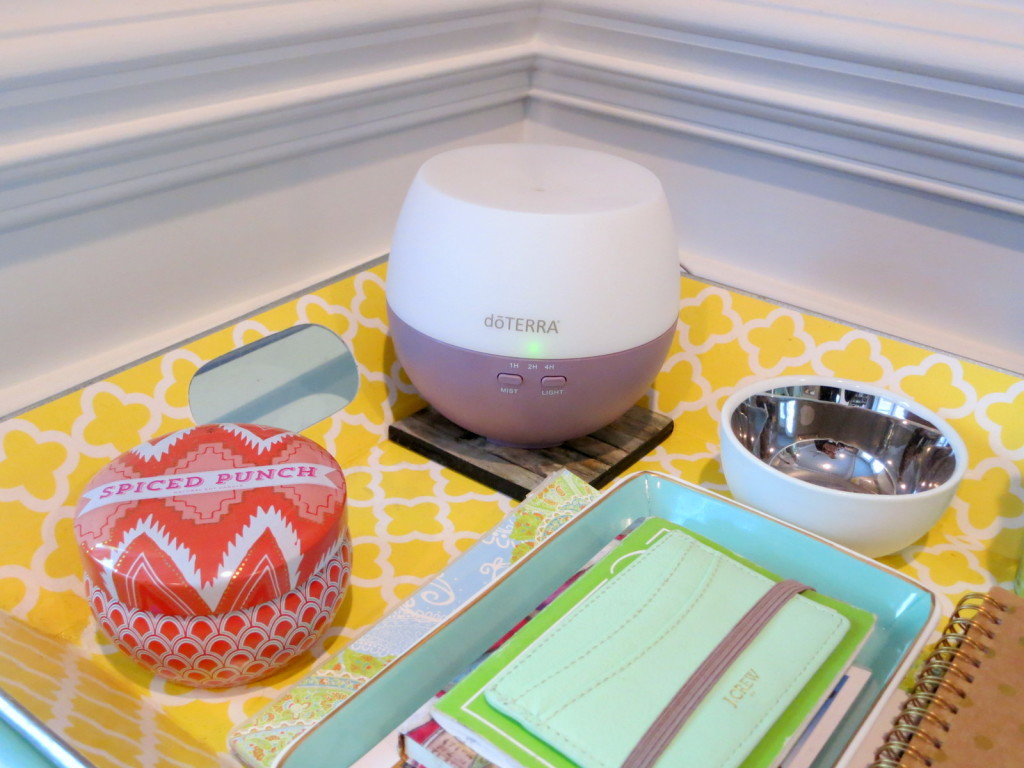 diffuser in home office