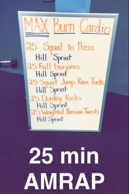 Burn Boot Camp Cardio Workout