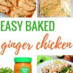 Easy Baked Ginger Chicken
