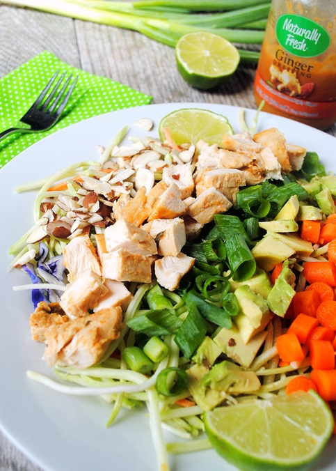 Easy Ginger Chicken Salad