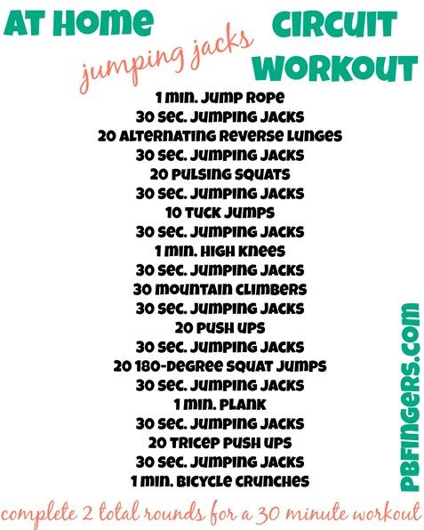 Jumping Jacks Circuit Workout