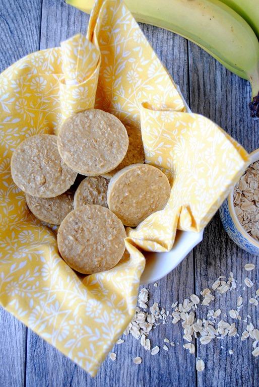 Banana Oatmeal Blender Muffins for Baby