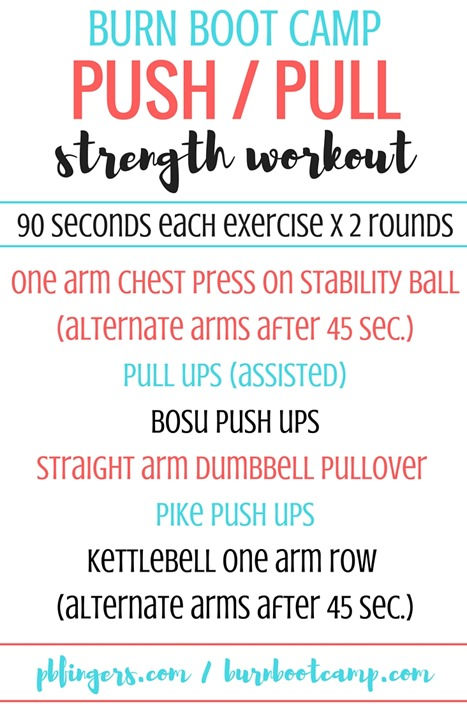 Push Pull Strength Workout