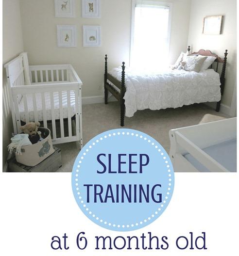 Sleep Training 6 Months Old