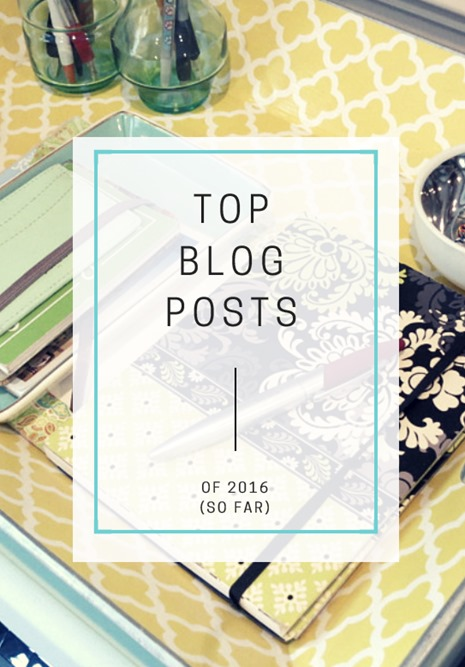 Top Blog Posts of 2016